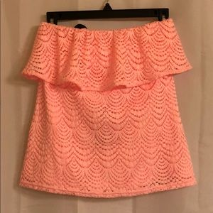 Lilly Pulitzer tube top!